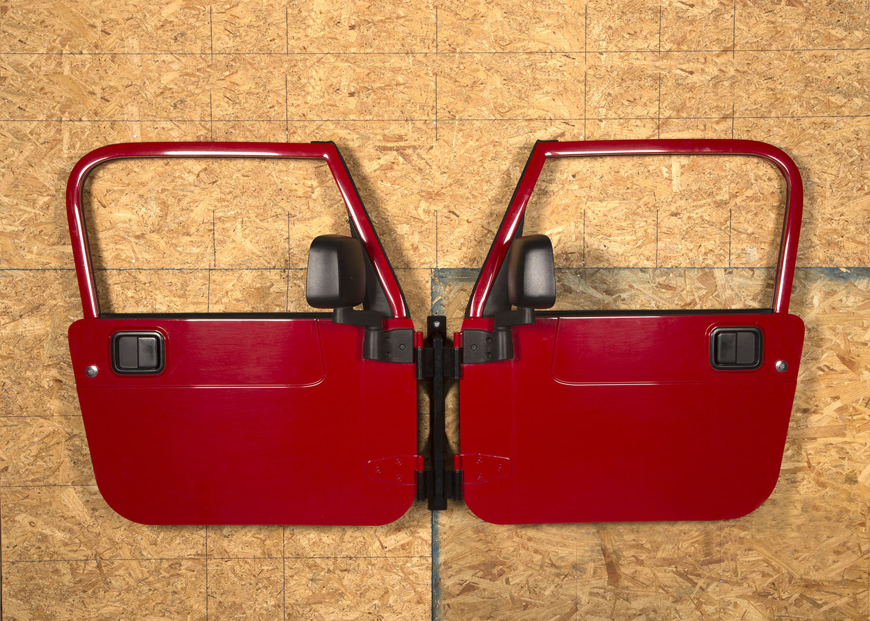 rugged ridge wall mount door holders