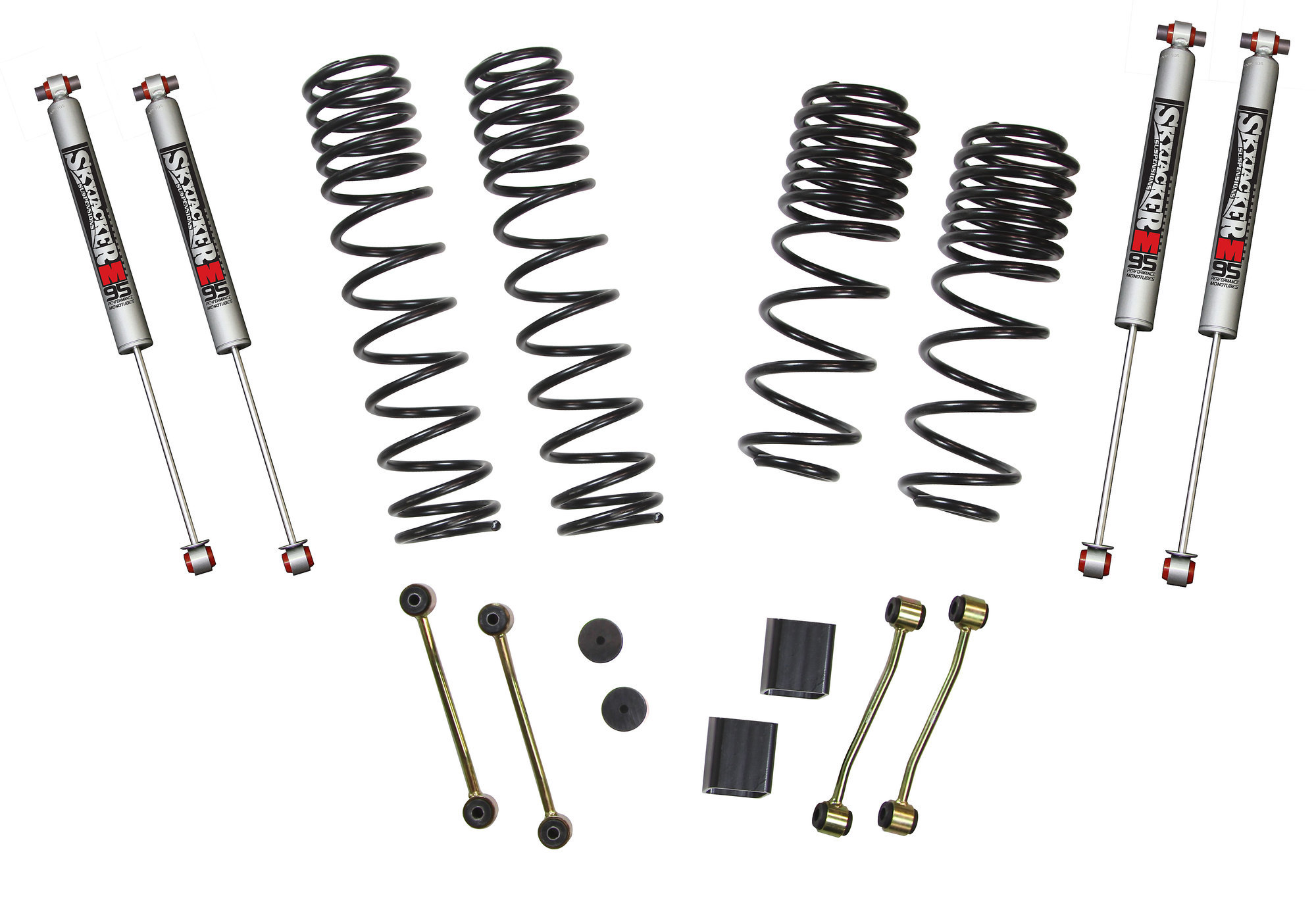 Skyjacker 2 5in Long Travel Lift Kit With M95 Shocks For