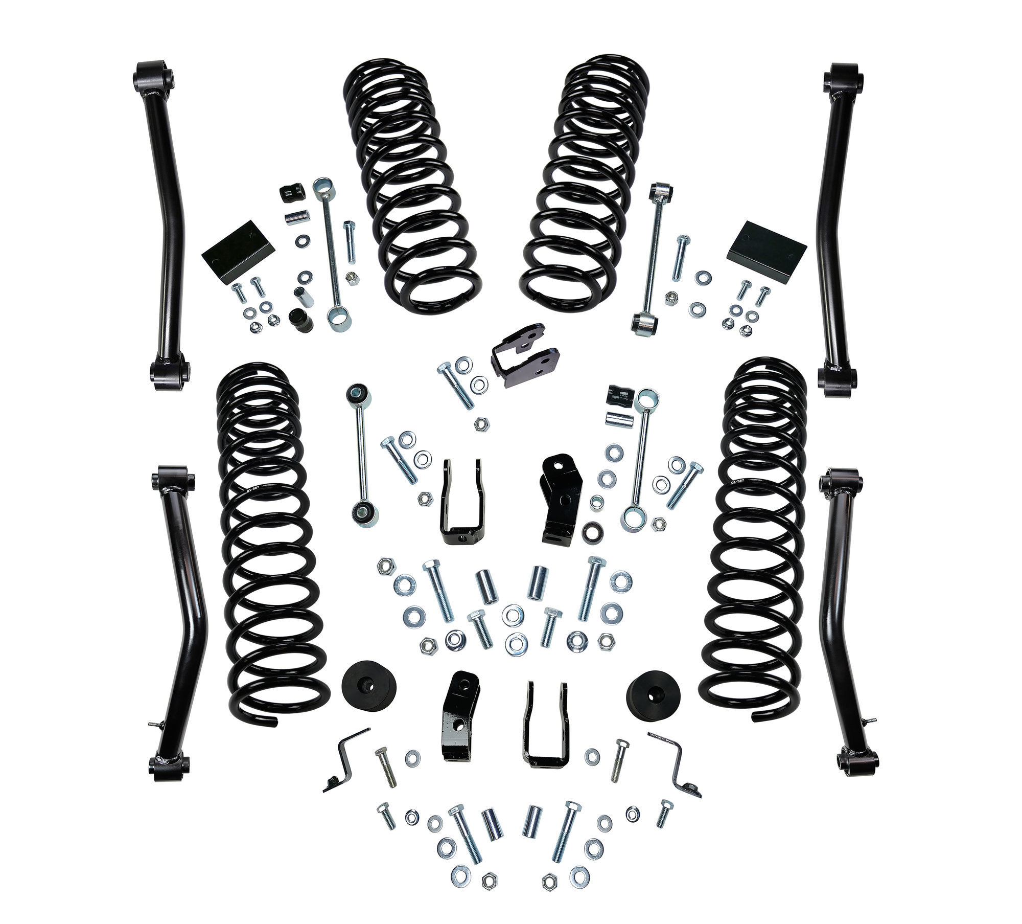 Superlift 4 Dual Rate Coil Spring Lift Kit For 18 20 Jeep