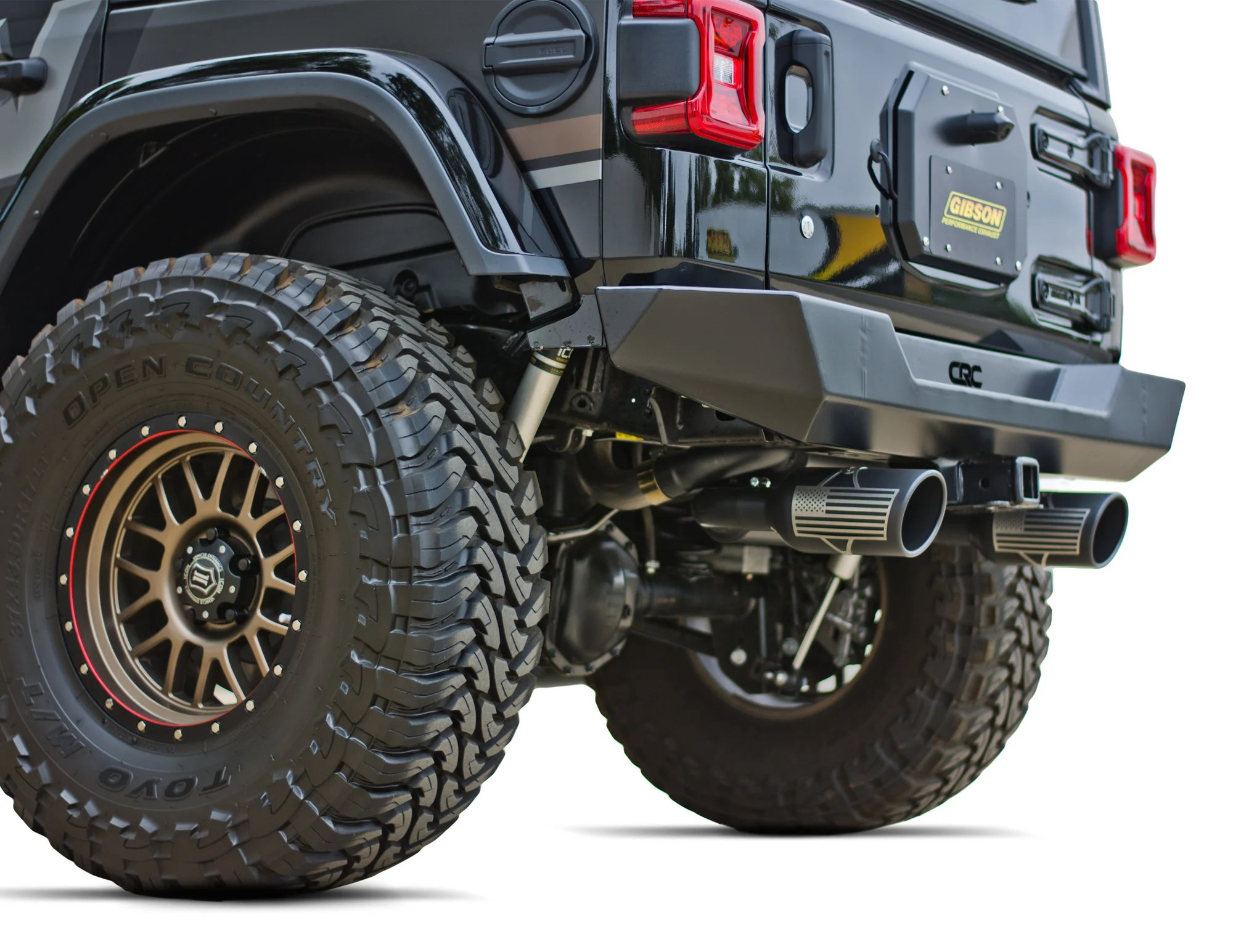 gibson 2 5 patriot series dual axle back exhaust system