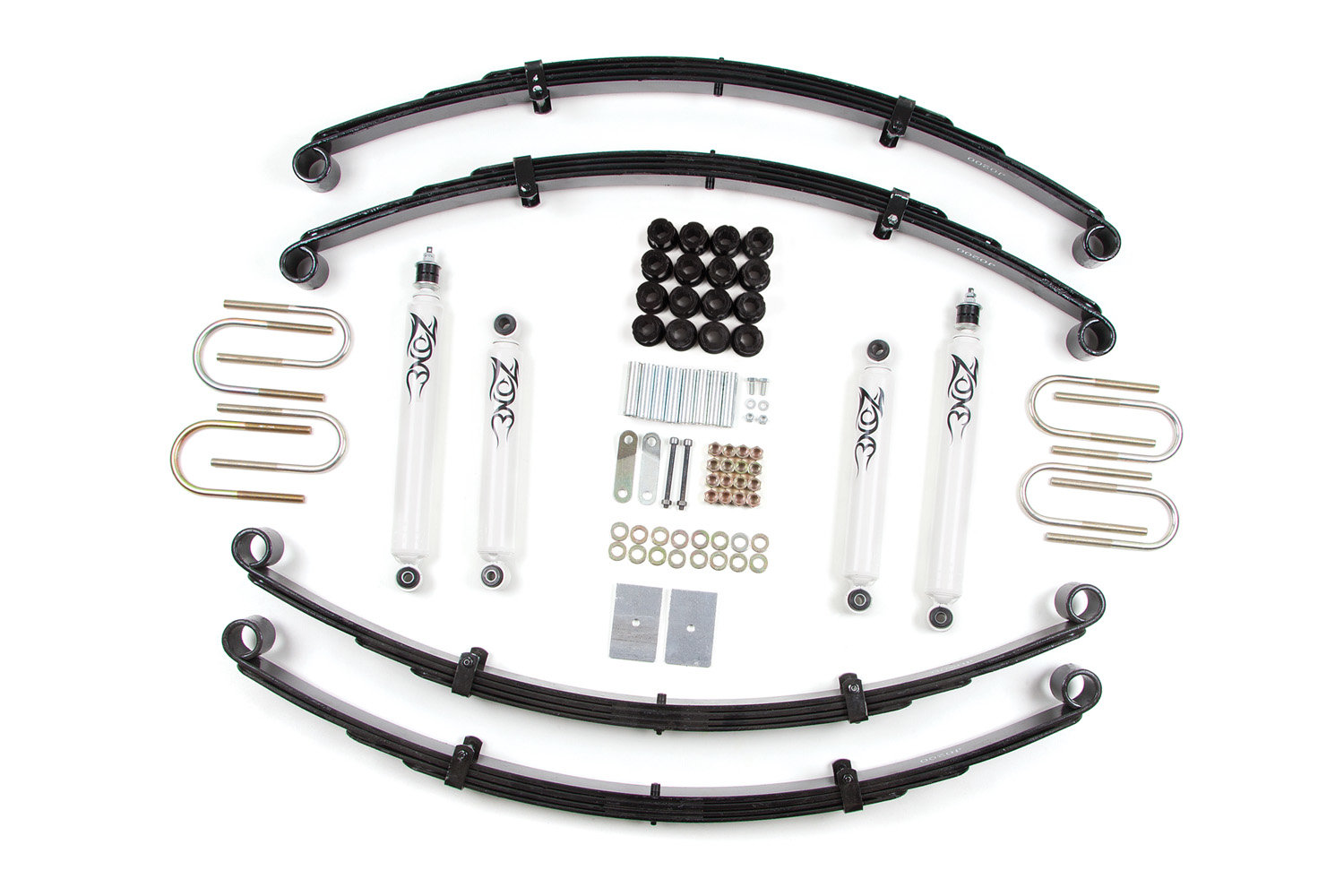 Zone Offroad Products J27 2 Lift Kit For 87 95 Jeep