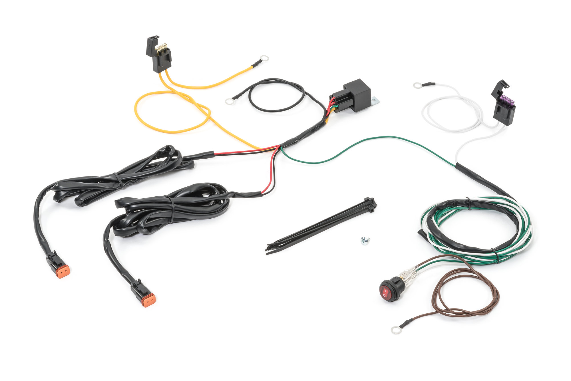 Kc Hilites Deluxe Wiring Harness With Relay