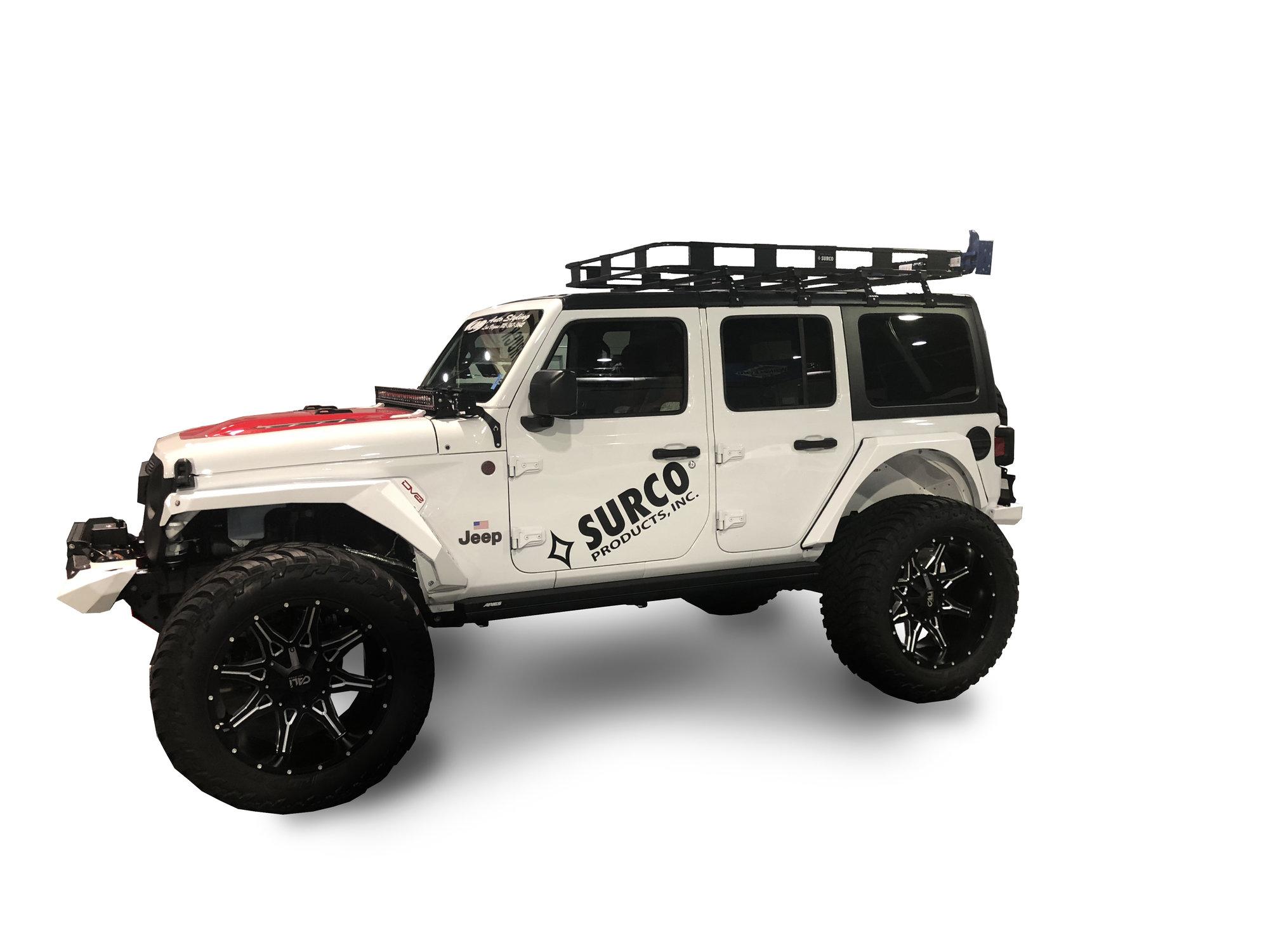 surco safari hardtop rack for 18 20 jeep wrangler jl unlimited