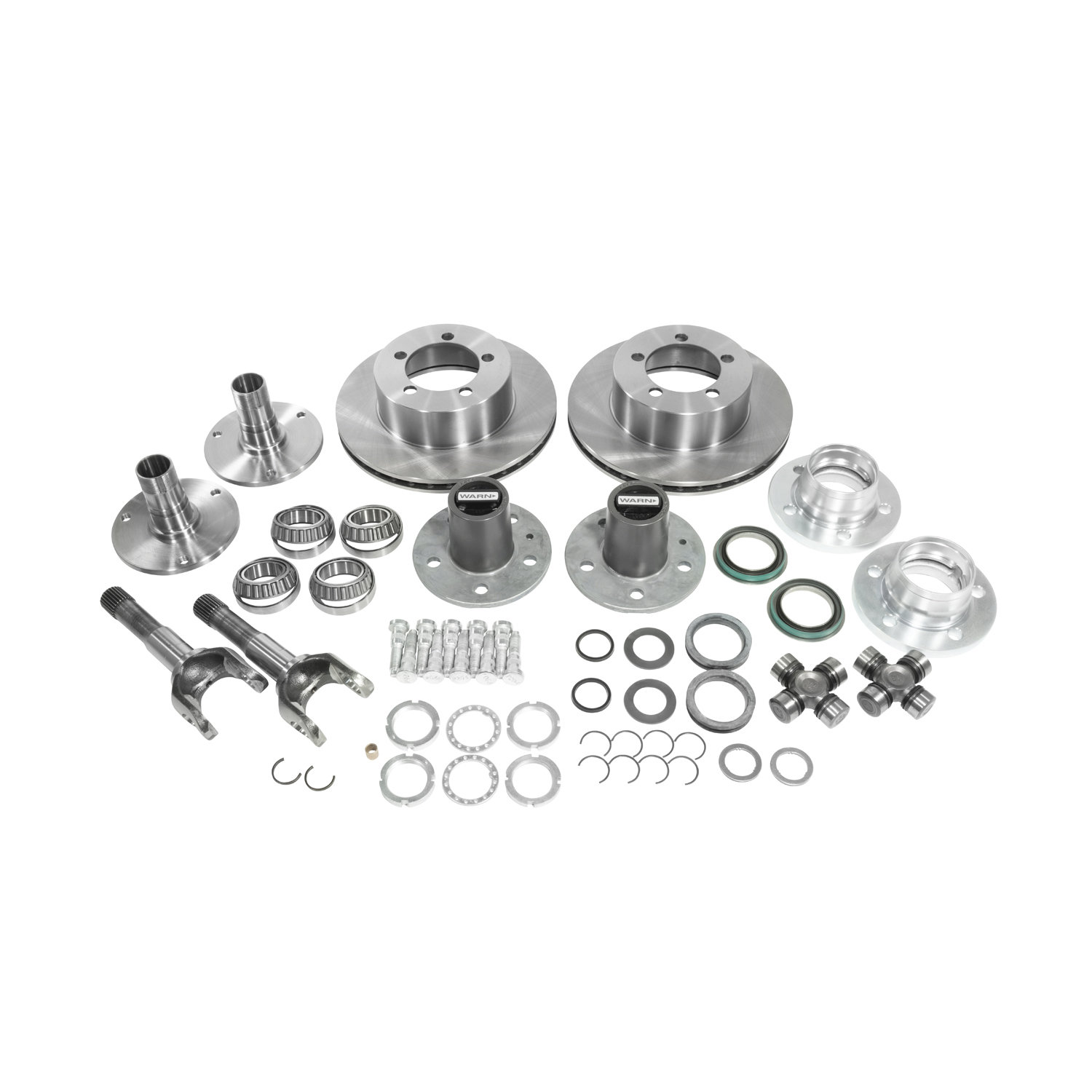 Yukon Gear Amp Axle Spin Free Locking Hub Conversion Kit For