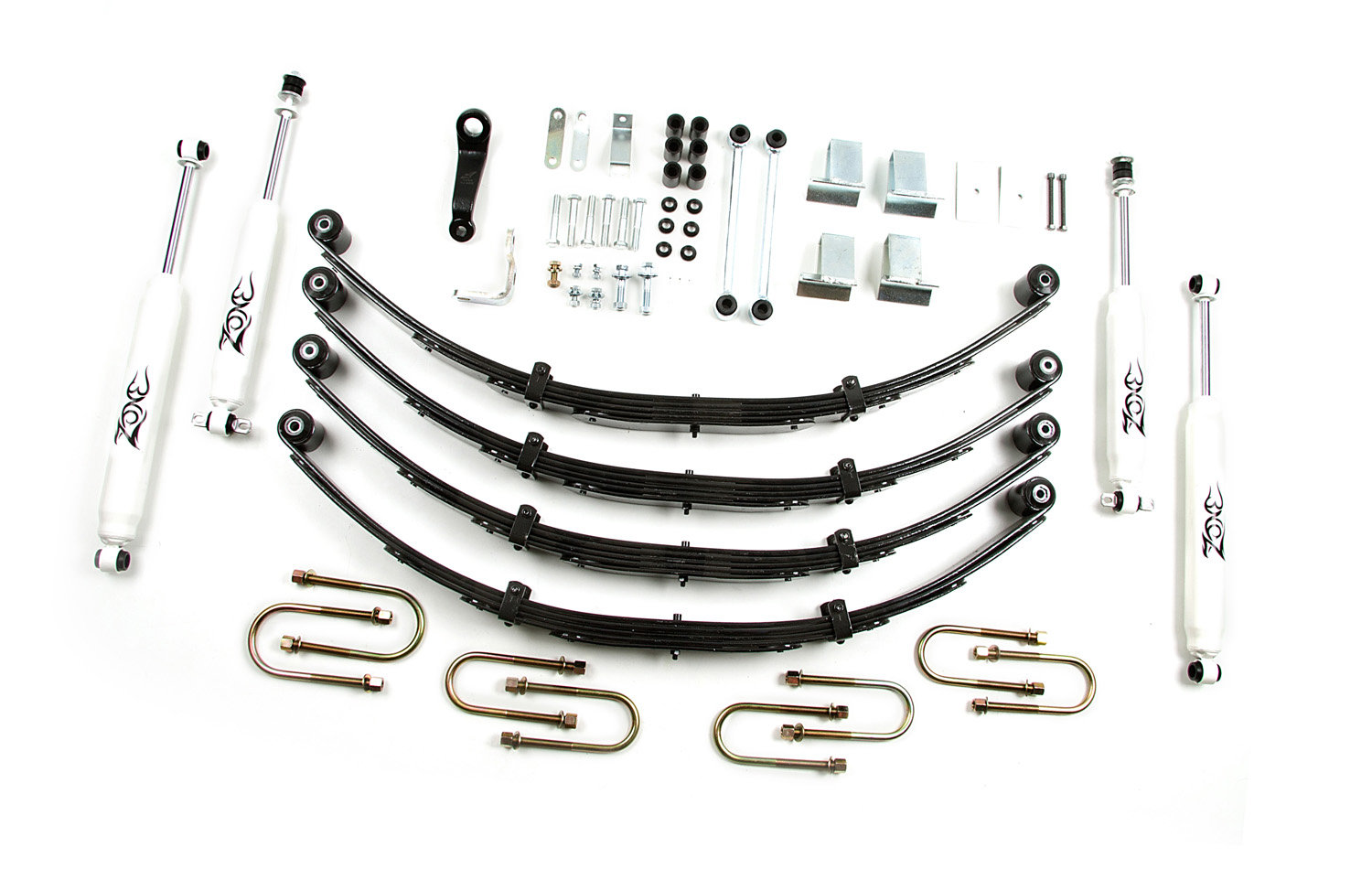 Zone Offroad Products J28 4 Suspension System For 87 95
