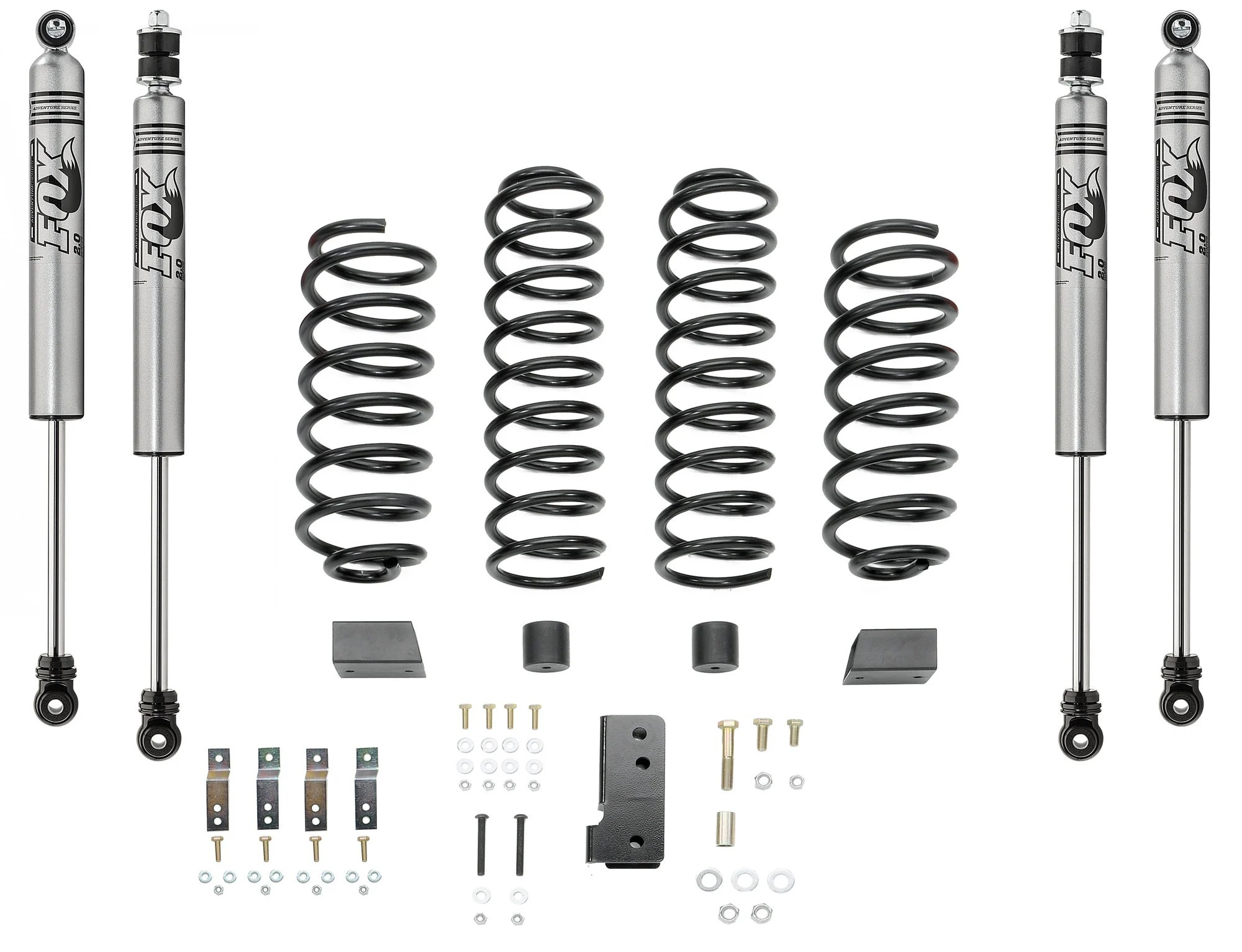 Quadratec 2 5 Coil Spring Suspension Kit With Fox Ifp