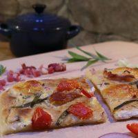 FLAMMKUCHEN Variationen mit Leberwurst und Flammkuchen Italienisch #Food #Rezept
