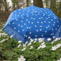 Kleiner Schirm ganz gross! Mit dem KNIRPS Taschenschirm für jeden Frühlingsschauer gewappnet #Knirps #roterPunkt #Rainshower