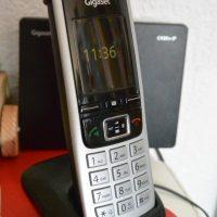 Gigaset C430 A IP Hybrid-Dect-Schnurlostelefon, analog und VoIP (ALL-IP), schwarz #Gigaset