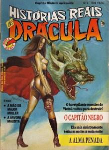 Histórias Reais de Drácula da editora Bloch