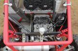 Power ohne Ende: das Aggregat bietet gigantische Leistung und befeuert das Fahrzeug extrem