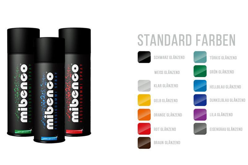 Einfacher geht's kaum: mibenco als Spray.