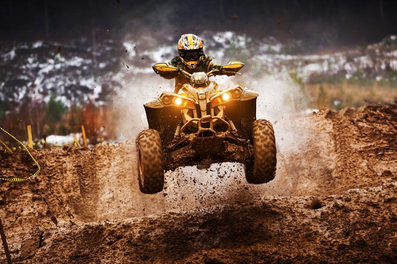 Ein besonderes Augenmerk gilt den Quad- und ATVfahrern.
