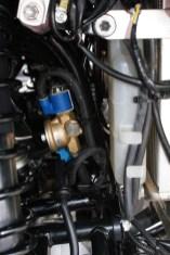 Mini-Bauteil: Der Verdampfer wurde speziell von Prins für die Verwendung am ATV konstruiert.