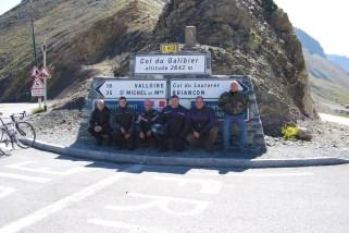 Trophäensammler: Fotostopp auf einem der höchsten Alpenpässe, dem Col du Galibier.