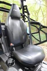 Fasten Your Seatbelts: Sportsitze geben guten Halt.