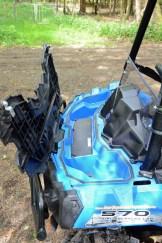 Staufach made by Polaris: Das kennen wir von den herkömmlichen ATVs der Marke.