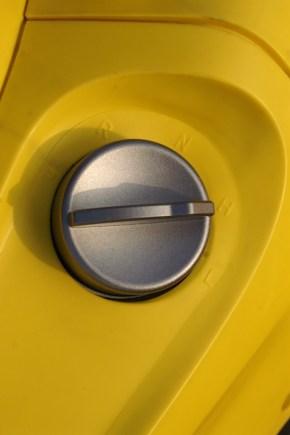 Mal was anderes: Drehschalter zur Fahrstufenwahl.