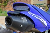 Sitzheizung: Der unter der Bank verbaute Endschalldämpfer wärmt des Fahrers Hinterteil nur mäßig.