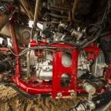 Kompakter drehmomentstarker Dreizylindermotor mit 998 ccm.