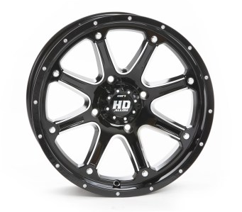 HD4 Wheel - Gloss Blk & Mach
