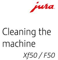 Cleaning a Jura F50 or Xf50