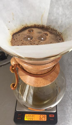 Chemex Brewing on Brewista