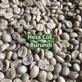 Green Coffee - Heza CoE, Burundi