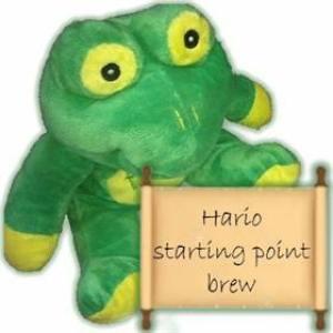 Hario starting point brew