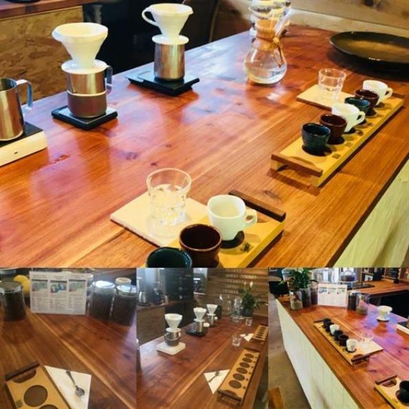 Quaffee Coffee Tasting Experience