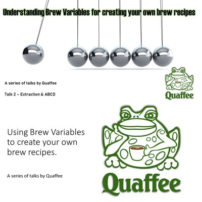 Brew variables series – Talk 1 & 2: Extraction and ABCD
