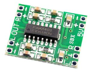 Générique UMTMedia® PAM8403 Mini amplificateur de Puissance Audio stéréo 3 W Classe D