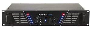 Ibiza AMP300 Amplificateur de Sonorisation 2x 240W Noir
