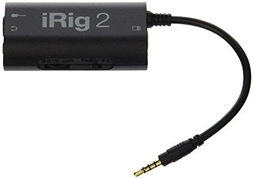 IK Multimedia iRig2 Interface de modelisation Noir