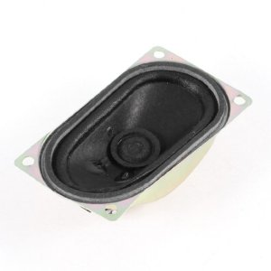 Sourcingmap® 40mm x 70mm Rectangle Aimant Interne Président Horn 8 Ohm 5W