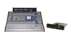 Tascam DM-4800 Digital Mixer avec IF-FW / DMmkII FireWire Audio Interface Card et MU-1000 Meterbridge