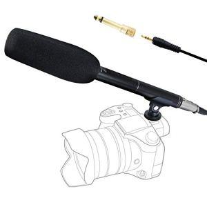 Tonor Microphone à Condensateur Professionnel Stéréo Média Interview Mic Cardioïde pour Caméra DSLR Vidéo DV Conférence Caméscope Photographie