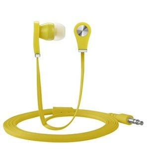 strir écouteurs stéréo de 3.5mm en-oído pour téléphone mobile universel téléphone cellulaire citronier