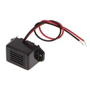 LLAni Mini Alarme électronique CC 12 V 85 DB Ton Constant