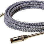 AmazonBasics Câble de microphone XLR tressé | 7,60 m