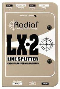 Radial LX22canaux Balanced Line Splitter W/isolation