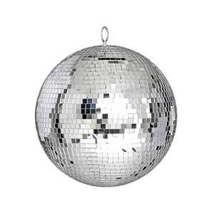 EdBerk74 Grand miroir Verre disco Ball DJ Dance Home Party Bandes Éclairage de la scène du club Lumière durable de la boule disco