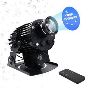 DYJD 200W LED GOBO Projecteur Logo Personnalisé Grand Angle Extérieur Étanche Manuelle Zoom pour Mariage Activités d'anniversaire d'affaires Publicité