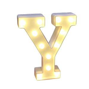 Led26 Anglais Lumières Alphanumériques En Plastique Décoratif Modélisation Lumières Mariage Anniversaire Amour Lumineux Nuit Lumière