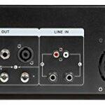 Skytec SKY- 1000B – Amplificateur professionnel, 2 x 1000 W, couleur noire, technologie moderne et fiable, large plage de fréquences, idéal pour soirées et concerts