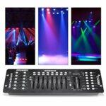 Contrôleur de lumière, contrôleur de lumière de fête, 12 scanners de 16 canaux Chaque Partie pour l'école de Concerts à Domicile