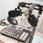 Filtre Anti-pop PodMic – Housse Anti-vent en Mousse Bonnette pour Microphone de Podcasting Rode PodMic pour Bloquer les Plosifs