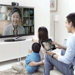 SANON Webcam avec Microphone Caméra Web 720P avec Câble Usb Indépendant pour Ordinateur Portable 12 Mégapixels