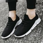 Chaussures de sport Staresen pour homme – Légères – Respirantes 43 Noir