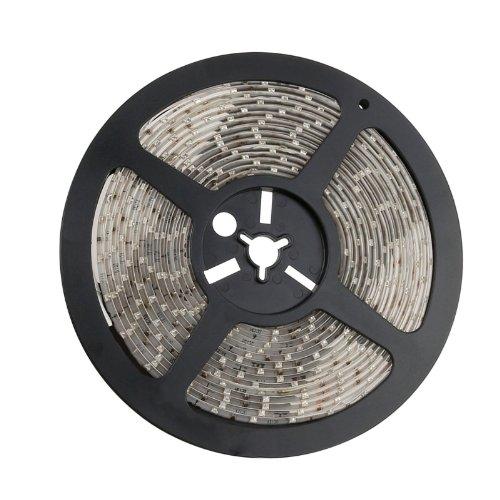 Yaootely 5M 3528 SMD 300 LED 60LED/M Bande Flexible Lampe de Noel Deco Rouge Etanche
